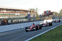 مايكل شوماخر يقود سيارته فيراري 248 للمرّة الأخيرة