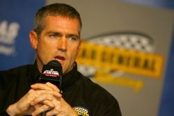 Bobby Labonte, during a press conference announcing that he and Kertus Davis will be co-drivers of the NASCAR Busch Series #77 Dollar General Chevrolet owned by Kevin Harvick for the 2007 season