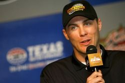 Kevin Harvick, during a press conference announcing that Bobby Labonte and Kertus Davis will be co-drivers of his NASCAR Busch Series #77 Dollar General Chevrolet for the 2007 season