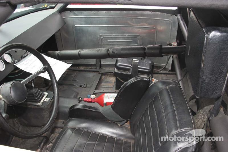 Cockpit de la voiture de la première victoire de Terry Labonte