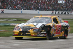Dave Blaney suffers front end damage