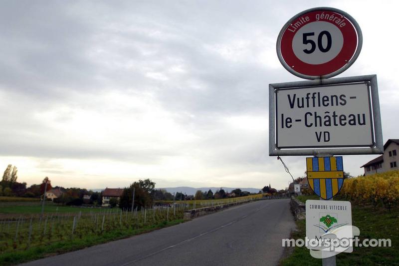 Vuttlens-le-Chateaux where Michael Schumacher, lives, moment: Chateaux, Vuttlens