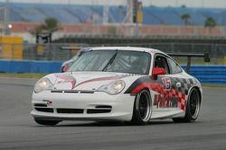 La Porsche GT3 Cup n°15 du Autometrics Motorsports : Cory Friedman, Bransen Patch, Mac McGehee,Jim Hamblin