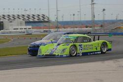 La Pontiac Riley n°75 du Krohn Racing : Tracy Krohn, Nic Jonsson