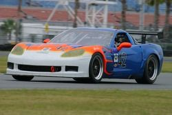 La Corvette n°42 du Team Sahlen : Joe Sahlen, Will Nonnamaker, Joe Nonnamaker