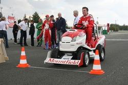 Journée des RP, Mountfield Cup on Tractors : Sean McIntosh