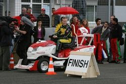 PR event day, Mountfield Cup on Tractors: Karl Reindler