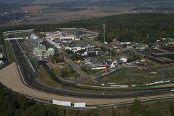 Imagen aérea del circuito