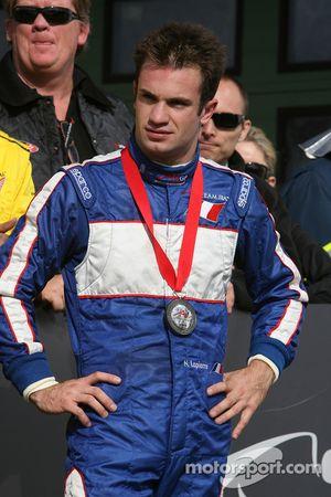 Nicolas Lapierre, pilote du A1Team France, 3ème place