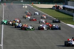 Départ de course : Tomas Enge et Salvador Duran