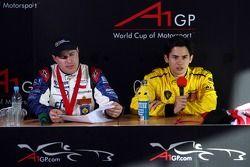 Conférence de presse : Tomas Enge et Alex Yoong