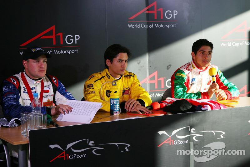 Conférence de presse : Tomas Enge, Alex Yoong et Salvador Duran
