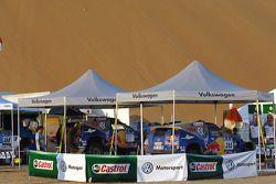 Le parc d'assistance Volkswagen Motorsport