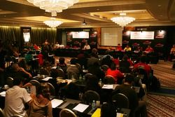 Conférence de presse d'A1GP