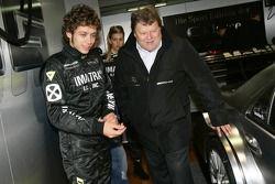 Valentino Rossi con Norbert Haug