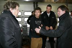 Valentino Rossi with Norbert Haug