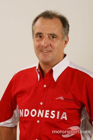 John Allen, Team Manager A1GP Team Indonesië