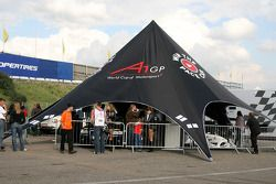 Win The Pace Car tent