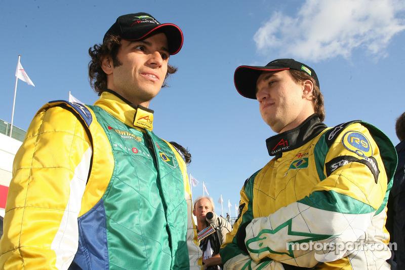 Tuka Rocha e Ruben Carrapatoso, campeão mundial de kart