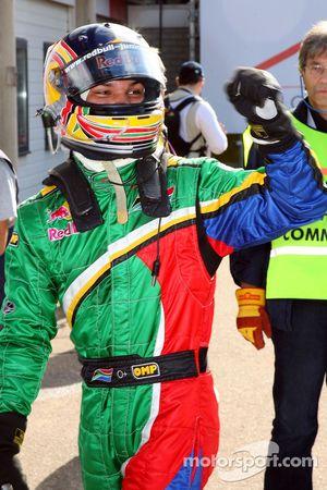 Adrian Zaugg pakt pole-position