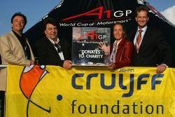 Tony Teixeira, A1GP en de Johan Cruyff Foundation