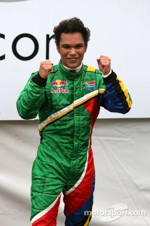 Racewinnaar Adrian Zaugg