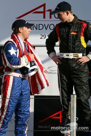 Phil Giebler en Nico Hulkenberg