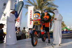Bike category podium: 3rd place Jordi Viladoms