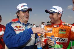 Carlos Sainz and Stéphane Peterhansel