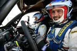 Nasser Al Attiyah et Alain Guehennec