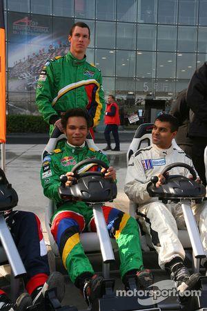 Alan van der Merwe with Adrian Zaugg and Nur Ali