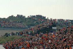 A full house on race day at Circuit Park Zandvoort