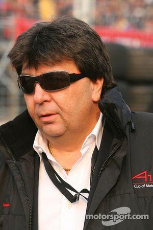 Tony Teixeira, A1GP-Chef