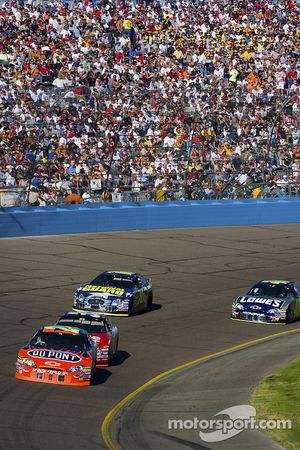 Jeff Gordon et Carl Edwards