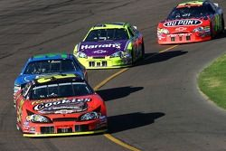 Kevin Harvick leads the field