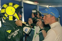 Valentino Rossi und Petter Solberg
