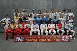 WTCC drivers group picture