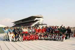 FIA-GT drivers photoshoot