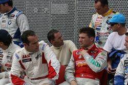 WTCC drivers group picture: Fabrizio Giovanardi, Alain Menu, Diego Romanini, Rickard Rydell, Nicola