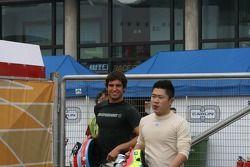 F3 drivers photoshoot: Richard Antinucci, Cheong Lou Meng