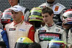 F3 drivers photoshoot: Mauro Massironi, Oliver Jarvis