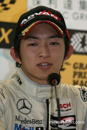 Press conference: Kohei Hirate