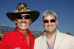 Taylor Hicks et Richard Petty