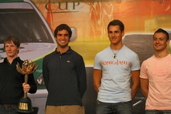 Mike Conway, Richard Antinucci, Adrian Sutil, Fabio Carbone