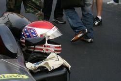 Charlie Kimball's helmet