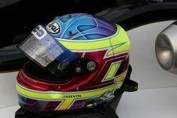 Oliver Jarvis' helmet