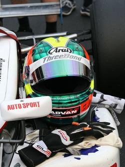 Fabio Carbone's helmet