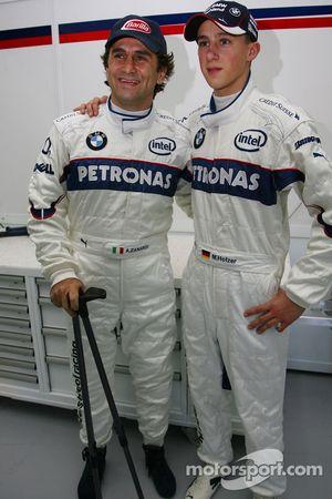 Alex Zanardi ve Marco Holzer