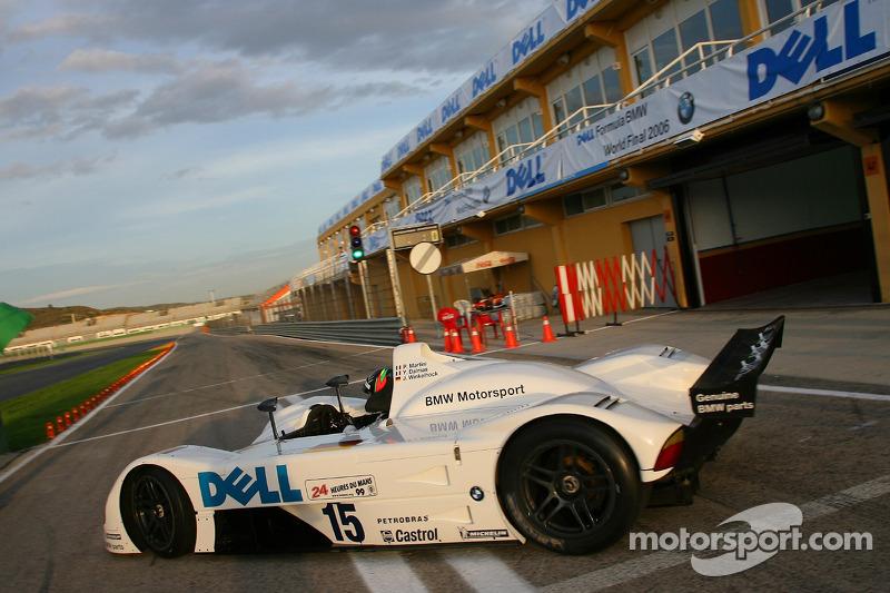 Historic BMW Cars: Jorg Muller drives the BMW V12 LMR at