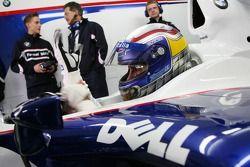 Alex Zanardi y Dr. Mario Theissen, Director de BMW Motorsport